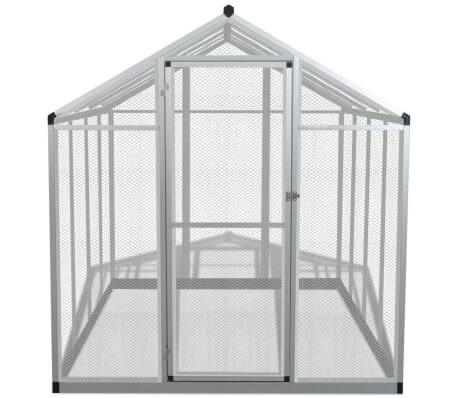 Image of Outdoor Aviary Aluminium Front Easy Assembly Everyday Pets