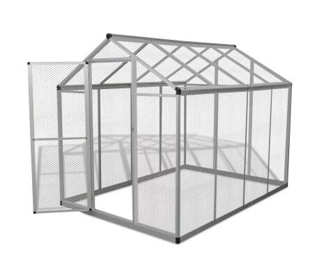 Image of Outdoor Aviary Aluminium Gate with Lock Everyday Pets