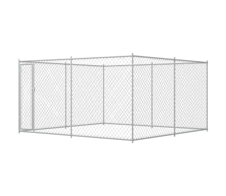 Outdoor Dog Kennel 4x4x2 m Everyday Pets