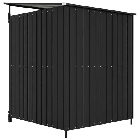 Image of Outdoor Dog Kennel Anthracite Back View Everyday Pets