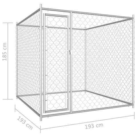 Image of Outdoor Dog Kennel Dimensions Everyday Pets