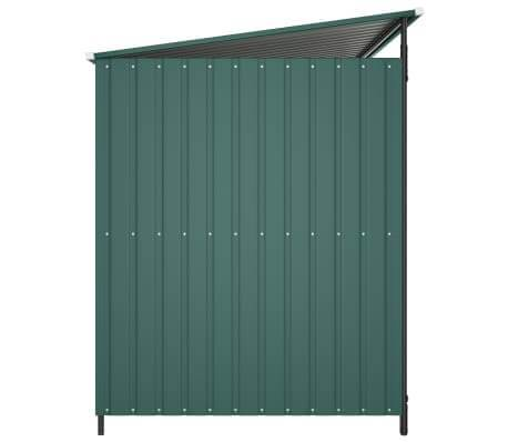 Image of Outdoor Dog Kennel Green Side View Everyday Pets