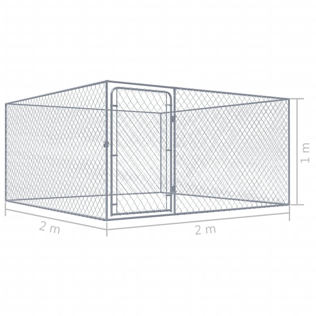 Outdoor Dog Kennel Product Dimension Everyday Pets