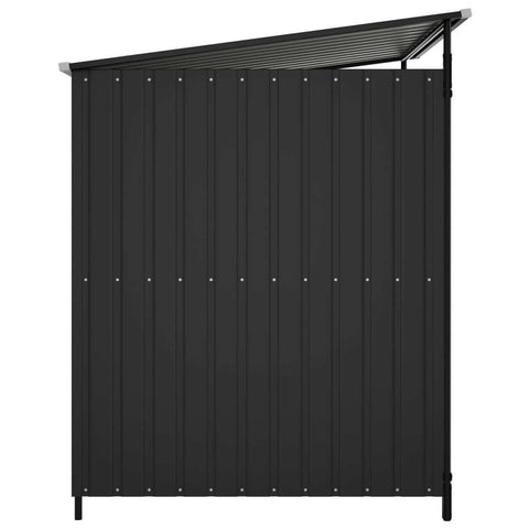 Image of Outdoor Dog Kennel Anthracite Side View Everyday Pets