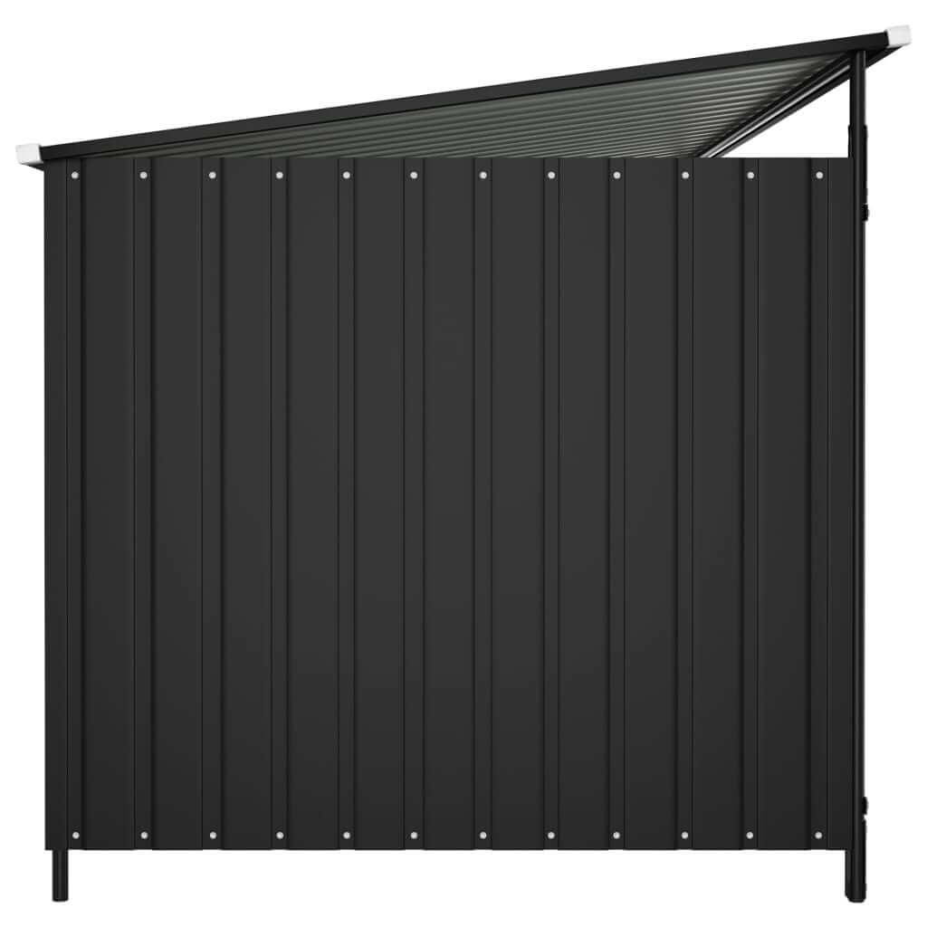 Outdoor Dog Kennel Side View Anthracite Everyday Pets