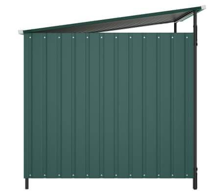 Outdoor Dog Kennel Side View Green Everyday Pets