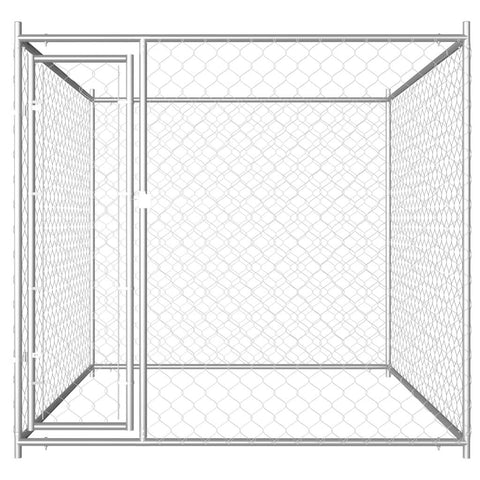 Image of Outdoor Dog Kennel 193x193x185 cm