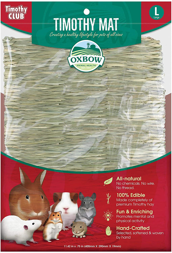 Oxbow-Timothy-Club-Mat-Large-High-Fiber-All-Natural-Timothy-Hay-Edible-Bed