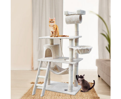 Cat Scratching Post Multi Level - 141 x 75 x 40cm