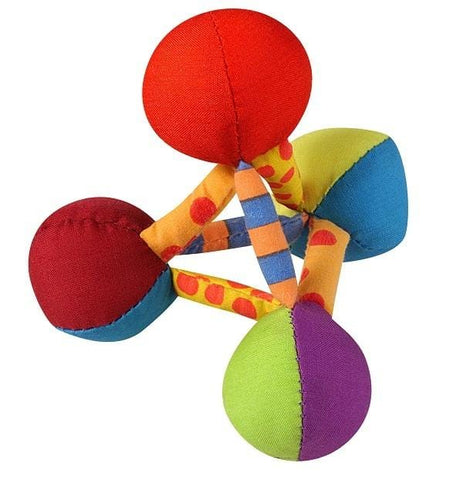 Image of Petstages Mini Plush Pyramid