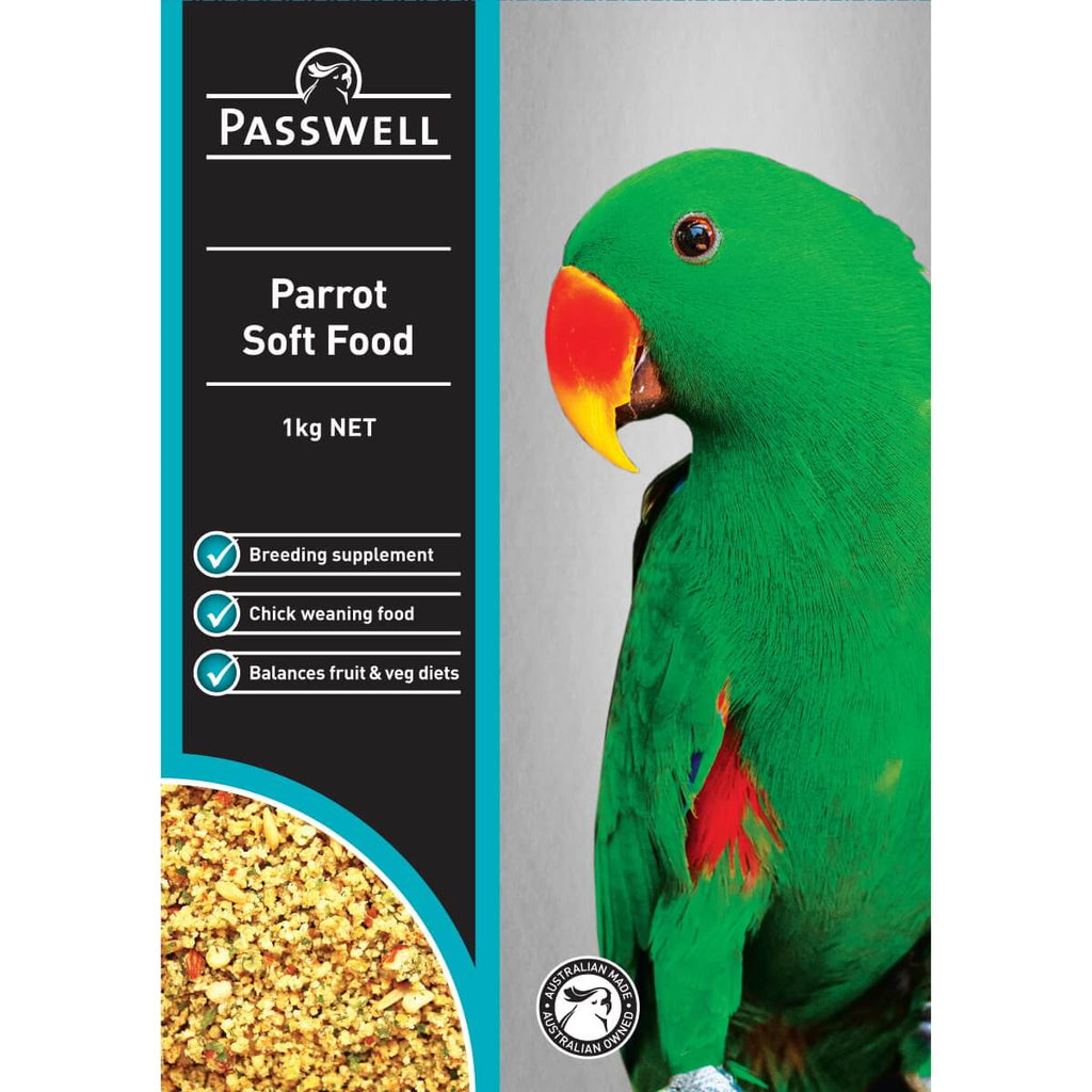 Passwell Parrot Soft Food 500gm