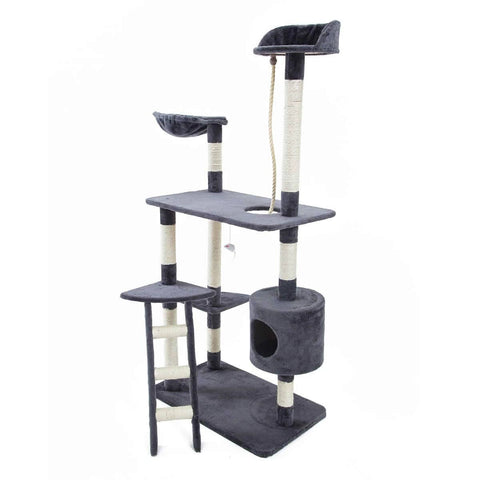 Image of Paw Mate Cat Tree Gym Scratcher Fuji 158 x 72.5 x 46cm