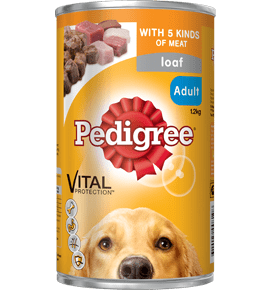 Pedigree Pal Adult Dog Can Food 5 Kinds Of Meat 12x 1.2kg Everyday Pets