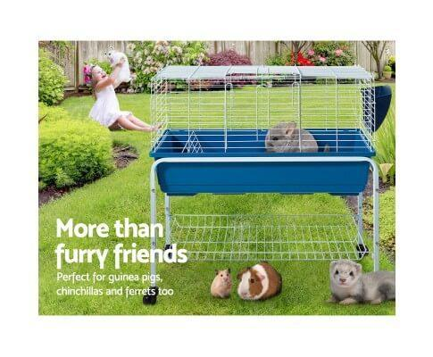 Perfect Home For Pet Rabbit Guinea Pig Small Animals Hutch Cage