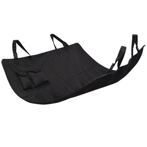 Image of Pet-Rear-Car-Seat-Cover-Barrier-148x142-cm-Black