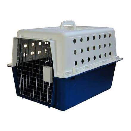 Pet Transporter Carry Crate with Litter Tray L48.5 x W33 x H33cms
