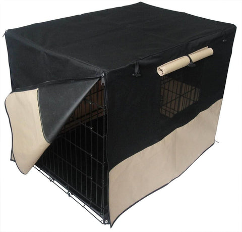 Image of Pet Puppy Dog Travel Outdoor Enclosure With Waterproof Cover
