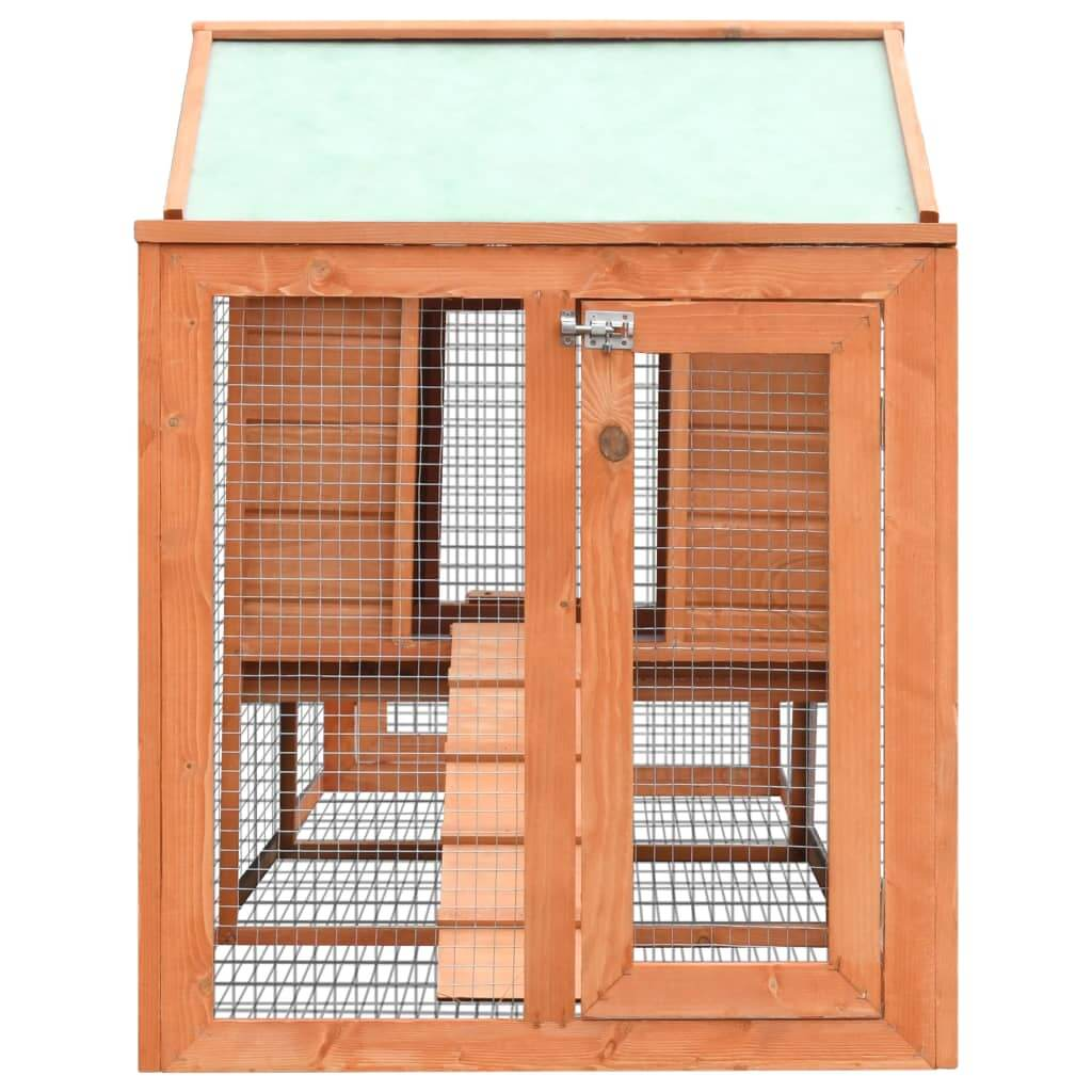 Rabbit Hutch Solid Pine & Fir Wood Secure Slide Bolt Latches Everyday Pets