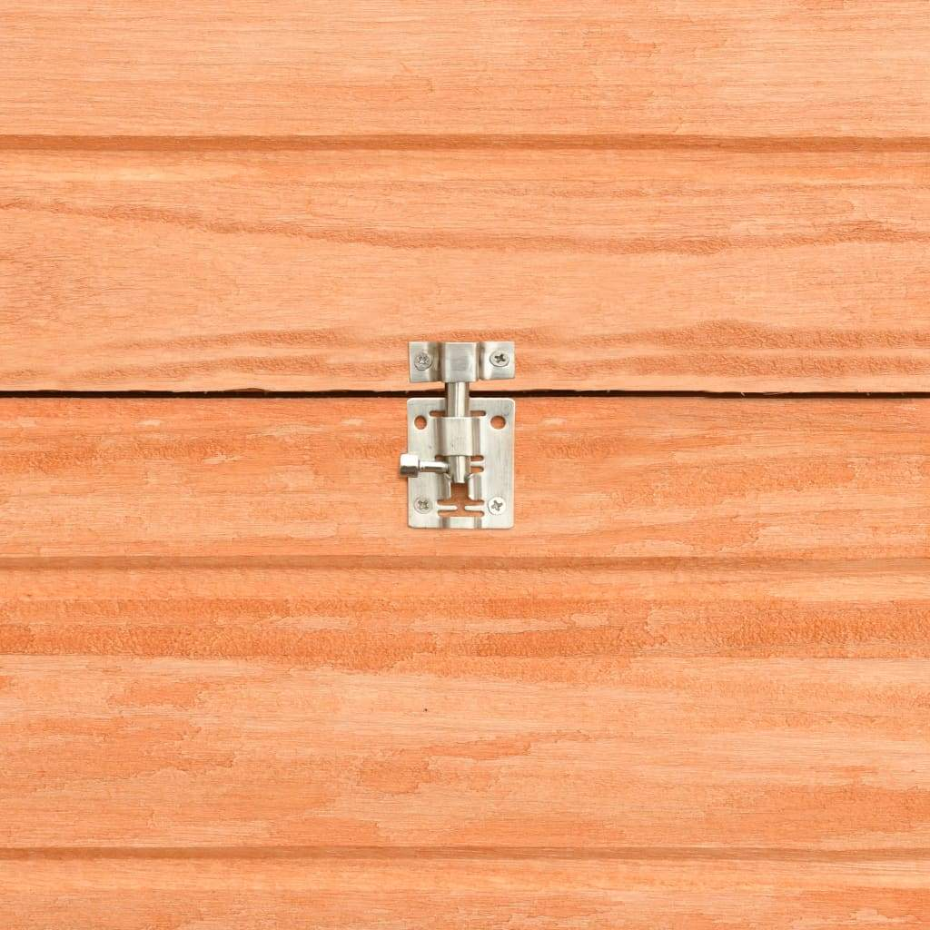 Rabbit Hutch Solid Pine and Fir Wood Easy-Lock Safety Side Bolt Latch Everyday Pets