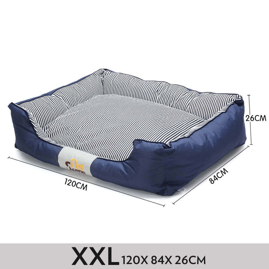 Soft Washable Pet Bed Mattress With Blanket & Dog Bone-XXLarge Measurement Everyday Pets