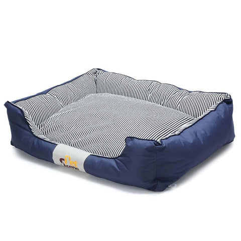 Image of Soft Washable Pet Bed Mattress With Blanket & Dog Bone Everyday Pets