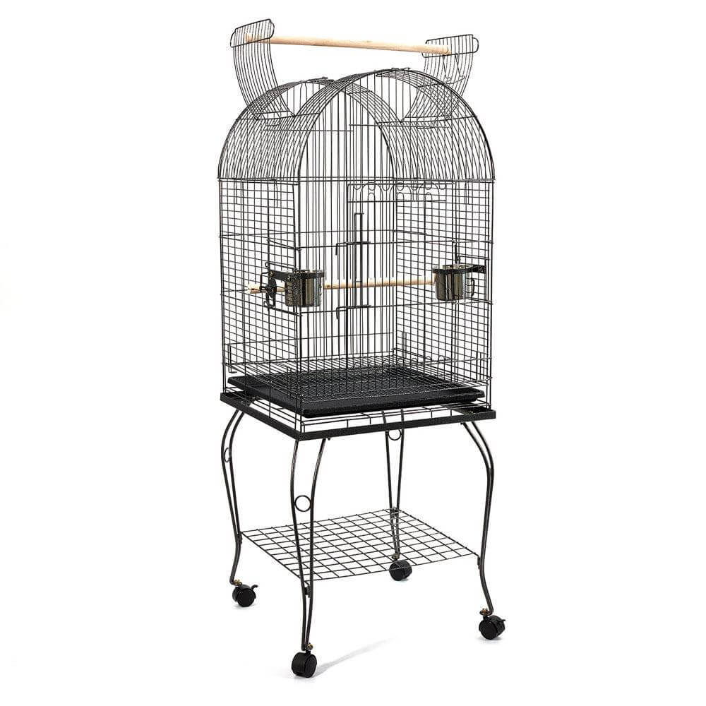 Spacious 53cm Dome Parrot Bird Cage