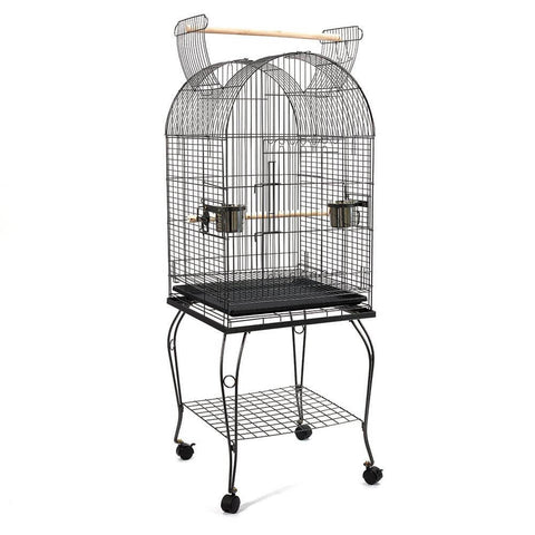 Image of Spacious 53cm Dome Parrot Bird Cage
