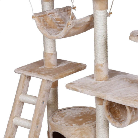 Image of Sturdy Construction Multi Platform Cat Tree 150cm