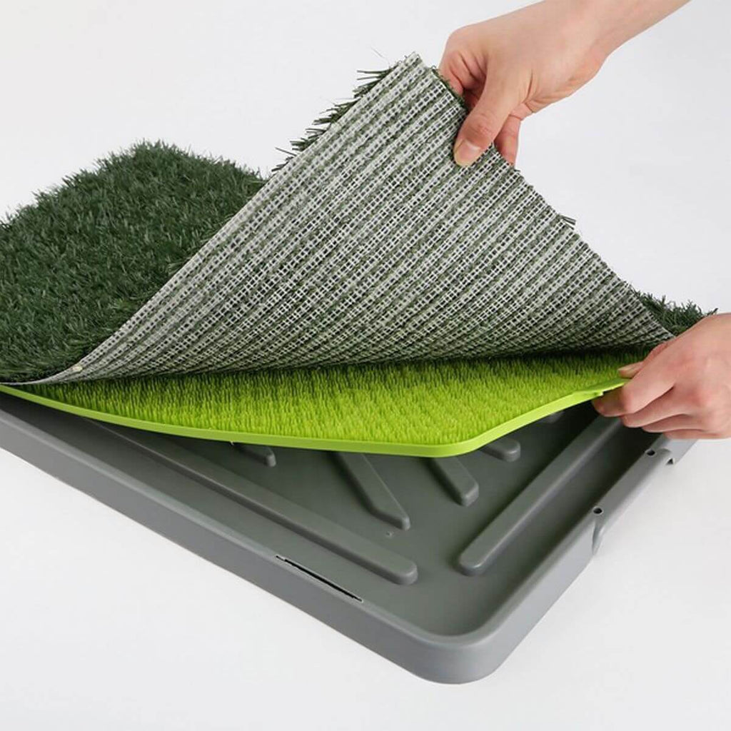 Synthetic Grass Mat Tray 3 Piece High Quality Strong PVC Material