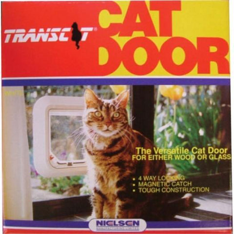 Transcat Cat Door - WhiteAfterpay ZipPay Australia Melbourne Sydney Adelaide Gold Coast