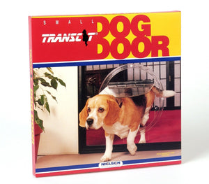High Quality Clear Dog Door Magnetic Dog Flap Four Way Locking Pet Door