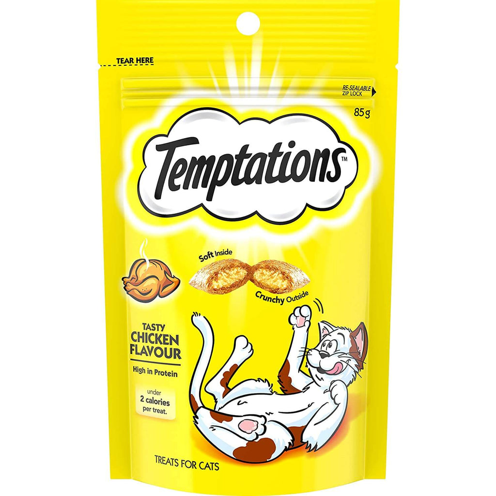 Temptations Cat Treats Tasty Chicken 85g Product