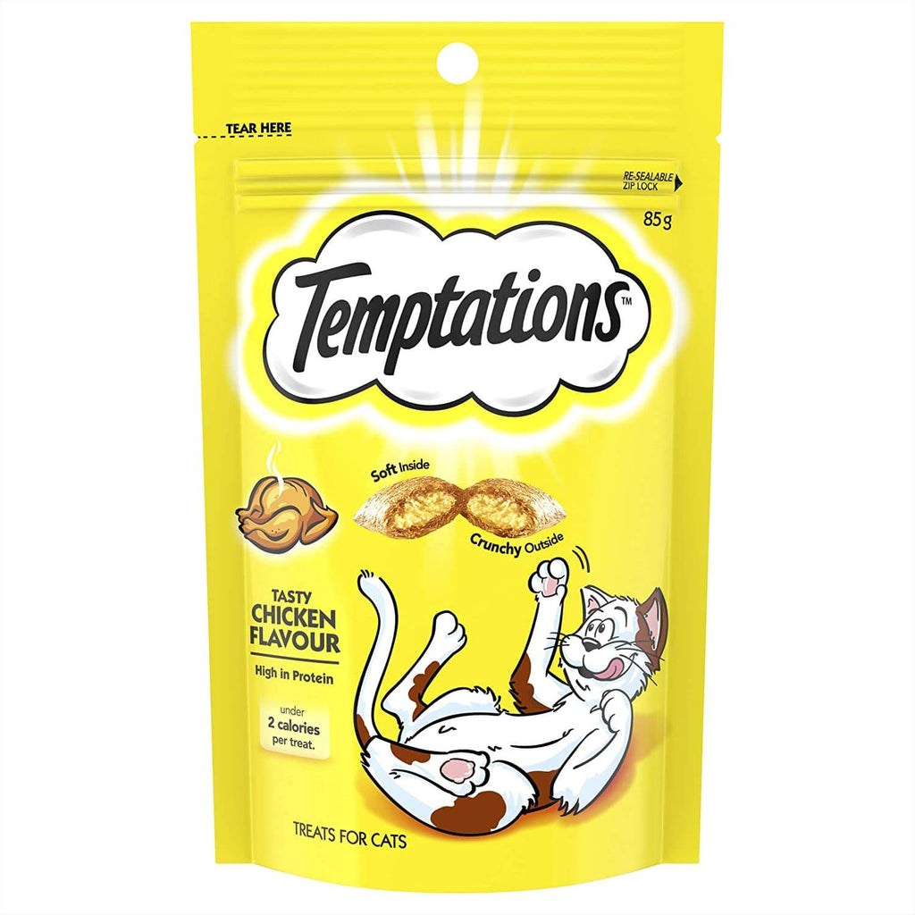 Temptations Cat Treats Tasty Chicken 85g