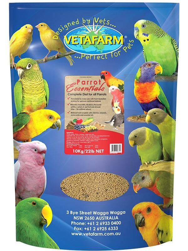 VETAFARM-PARROT-ESSENTIALS-10KG-BALANCED-DIET-FOR-PARROTS
