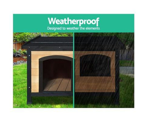 Image of Weatherproof Pet Dog Kennel