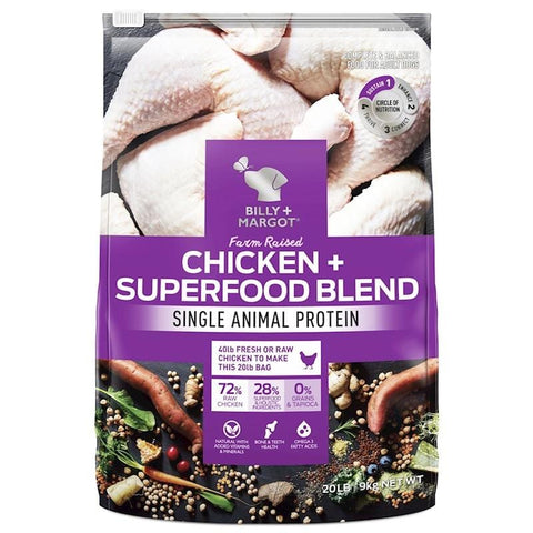 Image of Billy + Margot Grain Free Superfood Blend Chicken 9kg Everyday Pets