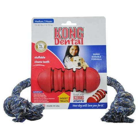 Kong Dental with Rope