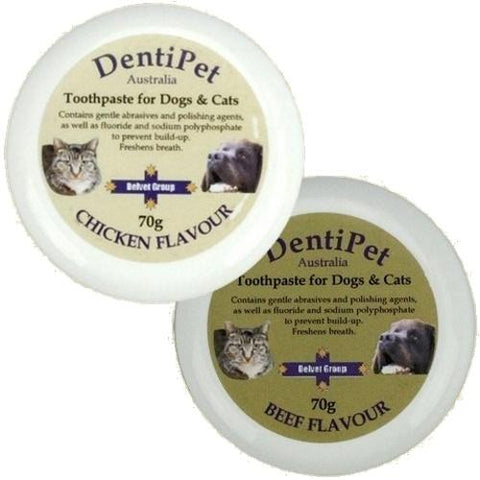 Image of Dentipet Beef / Chicken Flavoured Toothpaste for Dogs 70g