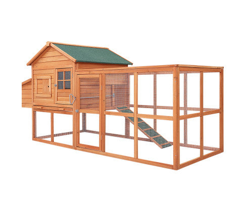 i.Pet-Chicken-Coop-Coops-Wooden-Rabbit-Hutch-Hen-Chook-House-Ferret-Large-Run-XL-Everyday-Pets