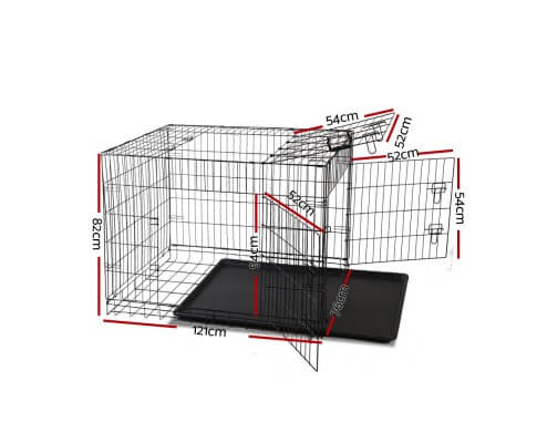 i.Pet 48inch Collapsible Pet Cage Dimensions
