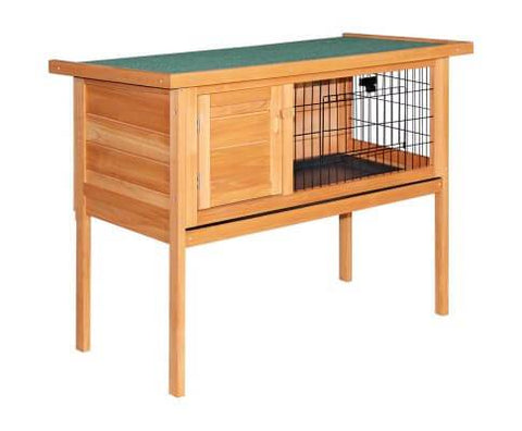 i.Pet 70cm Tall Wooden Pet Coop with Slide out Tray Everyday Pets