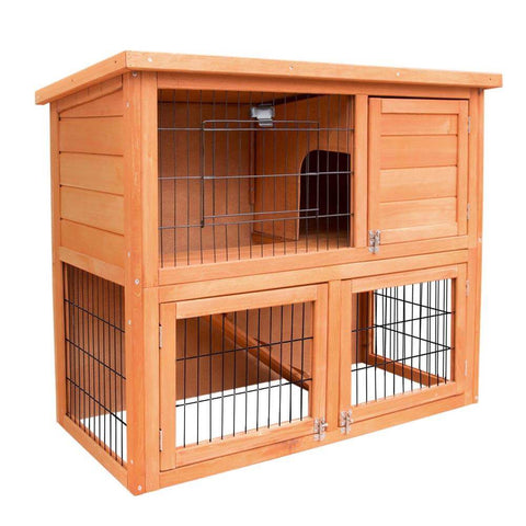 Image of i.Pet 93cm Tal Wooden Pet Coop Everyday Pets