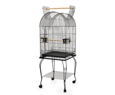 Image of i.Pet Large Bird Cage with Perch - Black Everyday Pets