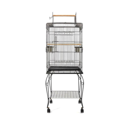 Image of i.Pet Large Bird Cage with Perch Side View