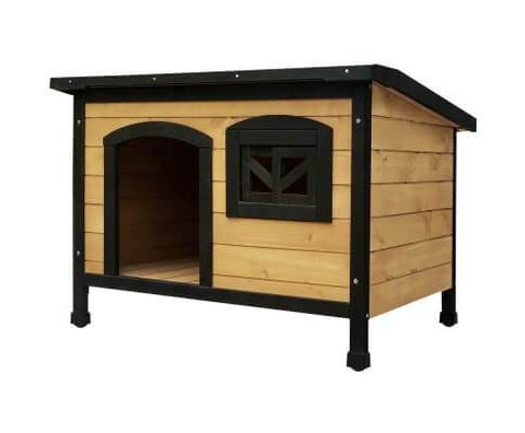 i.Pet Medium Wooden Pet Kennel Everyday Pets