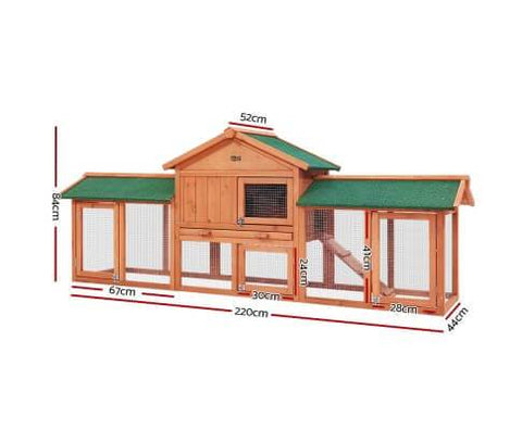 Image of i.Pet Pet Hutch Specification