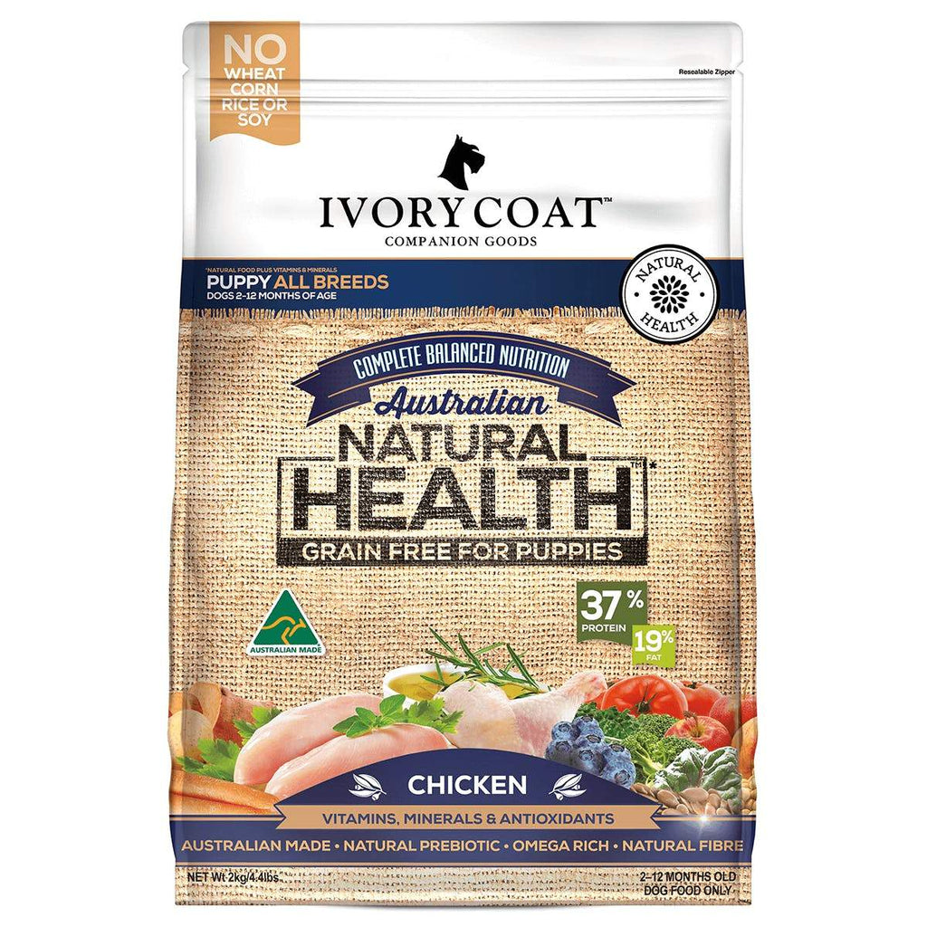 Ivory Coat Puppy Grain Free Chicken Dog Food 13kg Everyday Pets