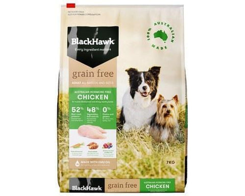 Image of Black Hawk Grain Free Holistic Adult Dog Chicken 7kg Everyday Pets