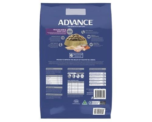 Advance Adult Dog Retriever Large+ Breed Dry Dog Food Chicken & Salmon 7kg Everyday Pets