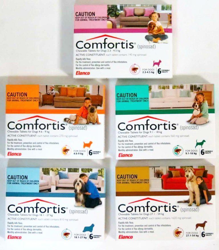 Comfortis Flea Treatment for Dogs - Chewable